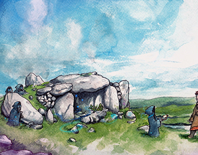 Creatures by the Dolmen Tomb