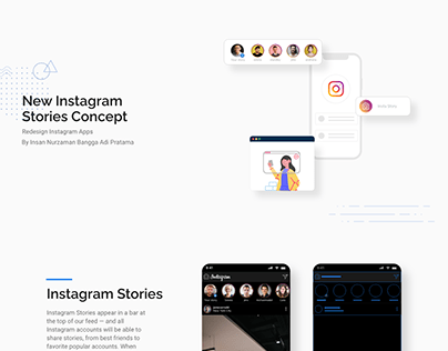 Redesign Instagram Stories