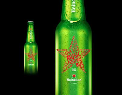 Heineken . Live Your Music