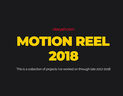 Logo Animation Motion Reel 2018