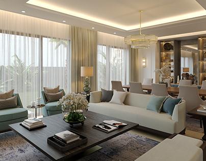 Majlis living room