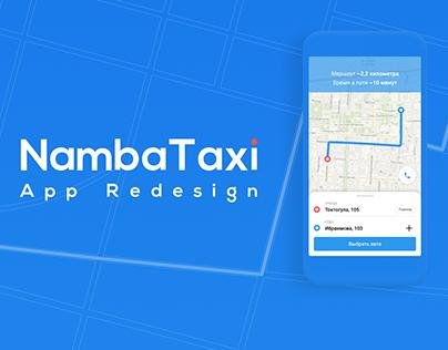 NambaTaxi App Redesign Concept