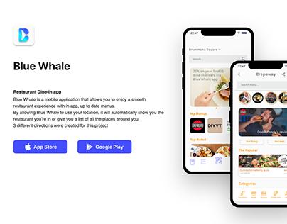 Blue Whale App
