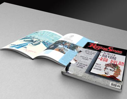 Rolling Stone Magazine restyling