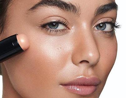Beauty campaign retouching