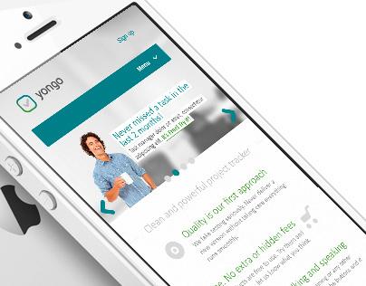Yongo - task manager - Web&Mobile