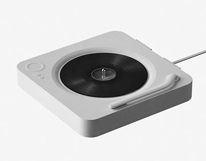 WhiteBox - Modern turntable