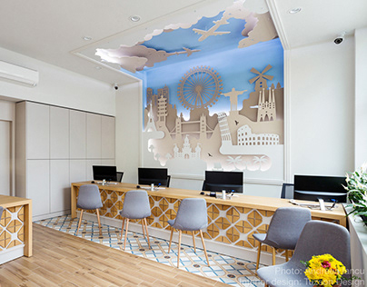Interior photography: Travel Agency by Tuzson Design