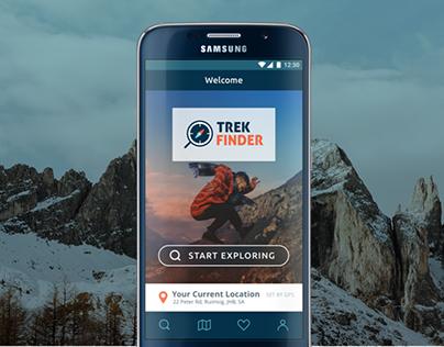 Trek Finder app