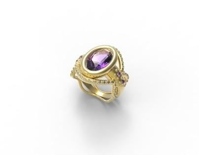 Sumptuous Ring