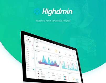 Highdmin - Admin & Dashboard Template