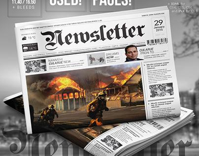 Hot Newspaper