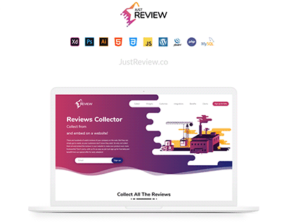 Just Review - Website Case Study