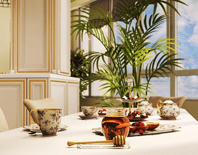 Kitchen design in Italian Classics