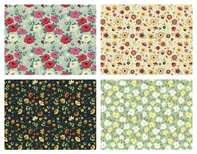 [Estampa] Coleção de Estampas Florais