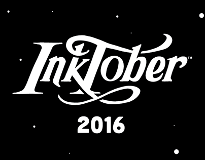 INKTOBER 2016 - Space Themed Series
