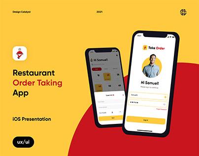 Take Order - iOS Presentation