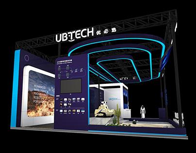2019亚欧安防博览会 UBTECH 展台设计