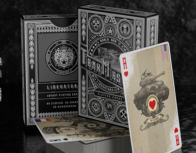 Tank Masters Playing Cards