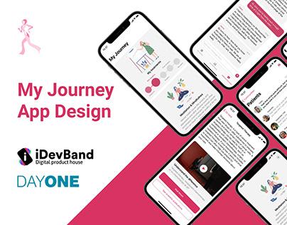 My Journey App Design