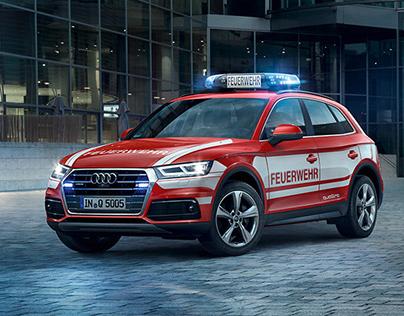 Audi Q5 Emergency Vehicle - CGI Car