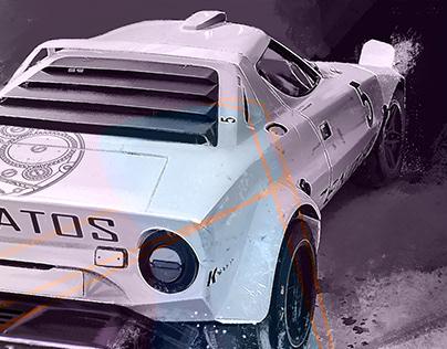 Lancia Stratos | Illustration