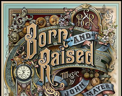 The Making of John Mayer's 'Born & Raised' Artwork