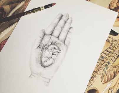 """I have your heart in my hand"""