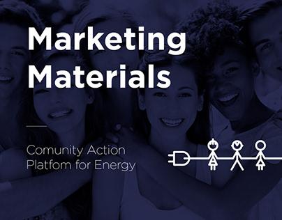 CAPE - promotional materials design