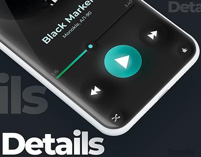 Music application concept