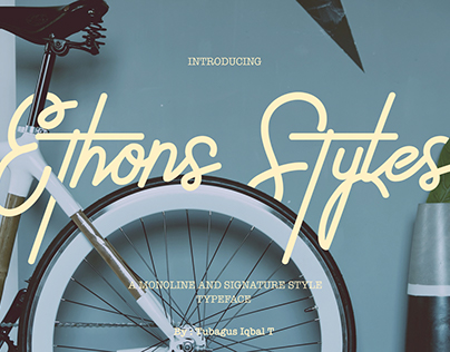 Ethons Styles Typeface