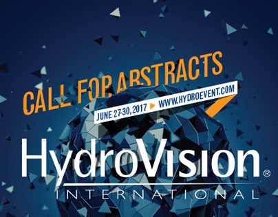 HYDROVISION INTERNATIONAL - 2016 call for papers