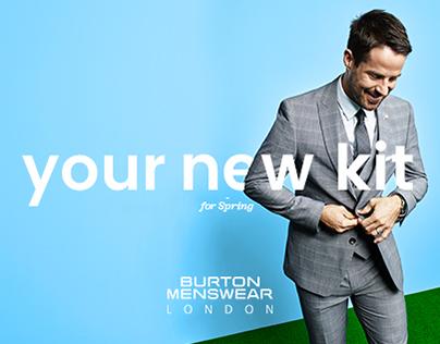 Burton Menswear - Your New Kit (SS17 Campaign)