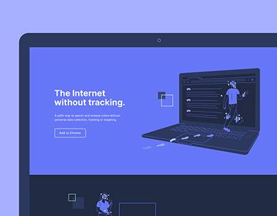 Startpage | Website Illustrations & Icons