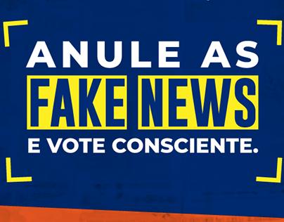 Infográfico | fake news nas eleições