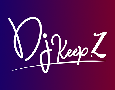 DJ KeepZ | Visual identity