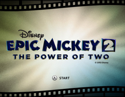 Epic Mickey 2: The Power of Two Game UI