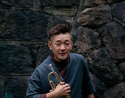 Portrait : Jazz Trumpet player