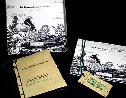 Diseño editorial La llamada de Cthulhu - H.P. Lovecraft