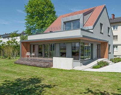 renovation und extension in pasching, austria