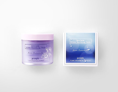 Azulene Soothing Pad Packaging