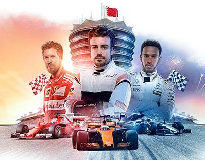 F1 Bahrain 2018 - Sakhir