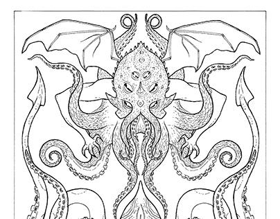 Mythological Coloring Book