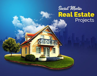 Social media designs | Real estate - multiple projects