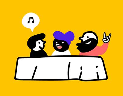 Grand Boucan - Music's Talks & Meetings
