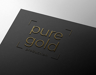 Pure Gold Production - Logotype