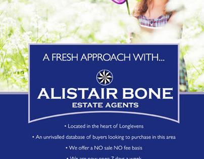 Alistair Bone Estate Agents Spring Campaign