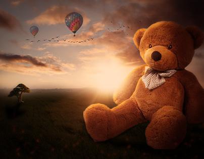 Giant Bear Photo Manipulation Tutorial