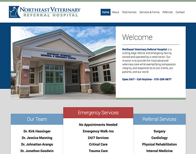 Website - Veterinary Hospital