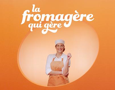 La fromagère qui gère | Fromages d'ici
